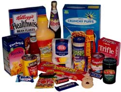 High sugar products