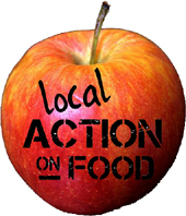Local Action on Food network logo