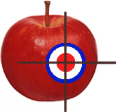 Organic Targets Bill campaign logo