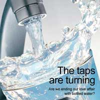 Download the 'The taps are turning' from the Sustain publications catalogue