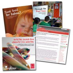 Children's food campaign materials