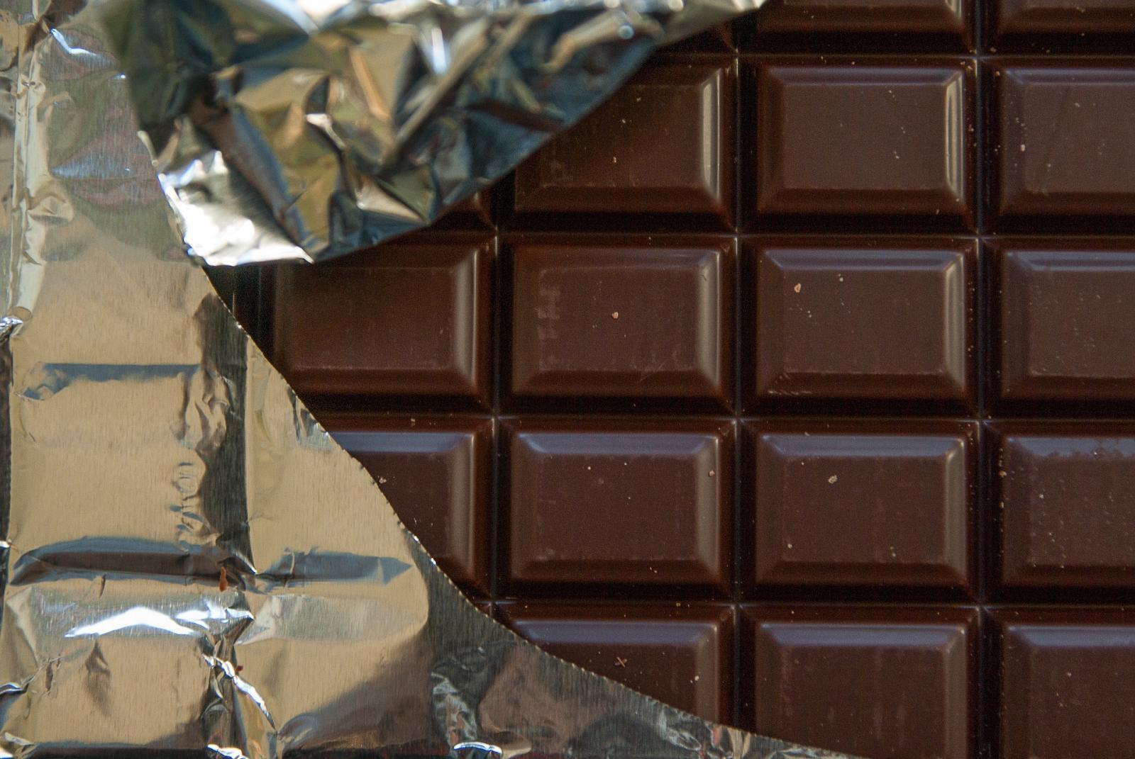 Dark chocolate. Photo credit: Pixabay