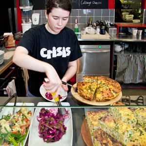 Crisis Fareshare community cafe