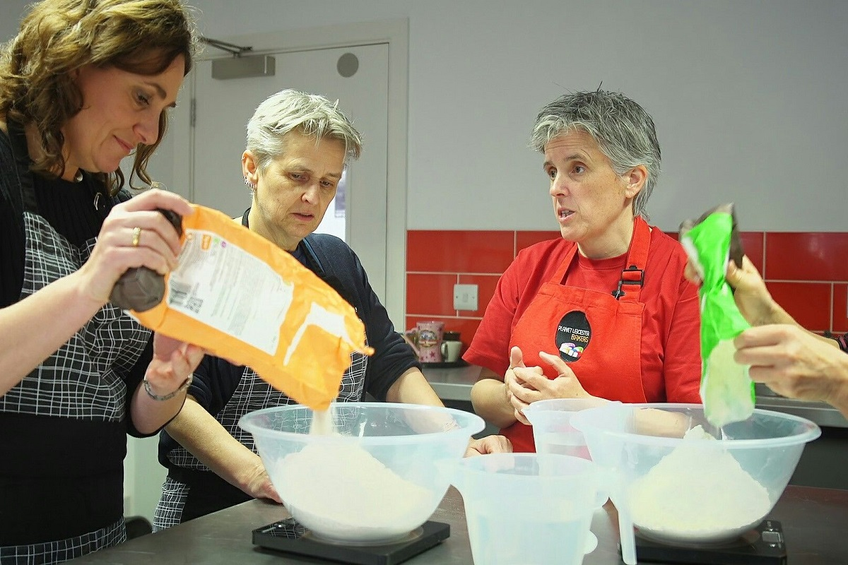 Bread training workshop © Planet Leicester Bakers