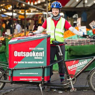 Outspoken Delivery works with the FoodCycle charity