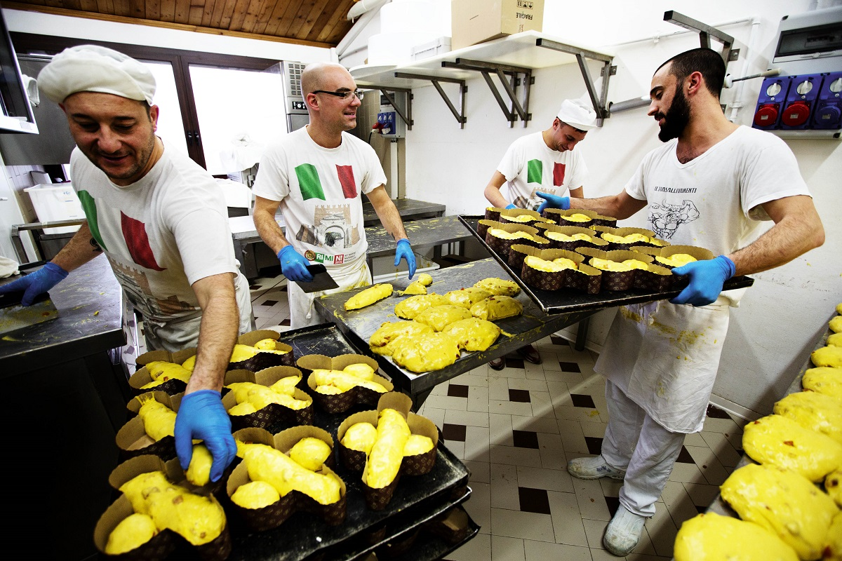 Making panettone, baking a difference © San Patrignano