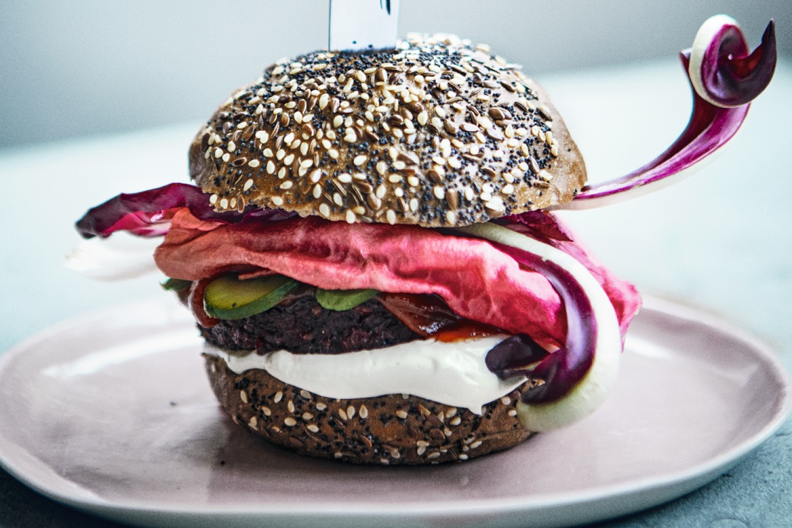 The pulp fiction burger Photo: Jenny Zarins