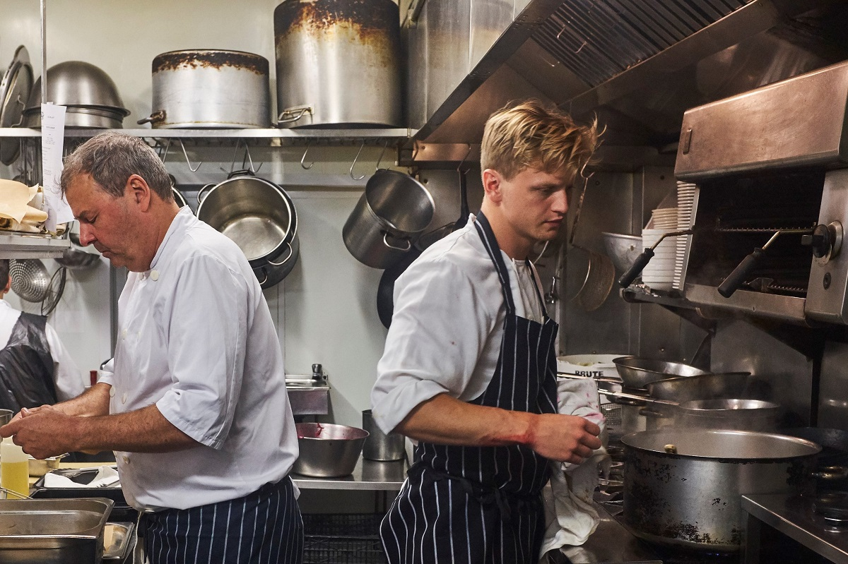 St. JOHN chefs at work © Steve Ryan