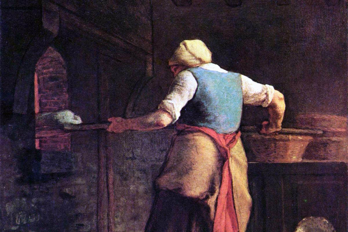 Jean-François Millet, The Baker, 1854, Kröller-Müller Museum