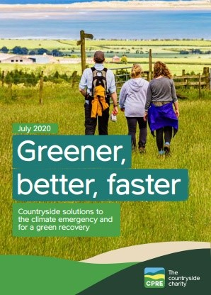 Greener, Better, Faster: CPRE's plan for climate change and rural areas