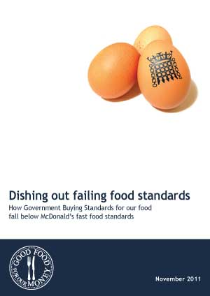 Dishing out failing food standards - comparing Government Buying Standards to those of McDonald's