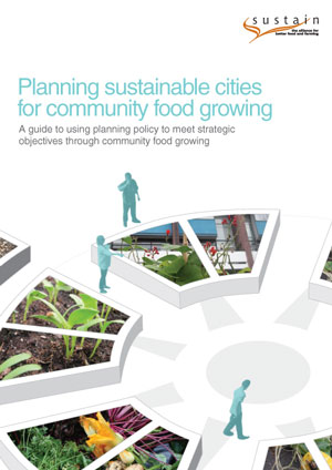 Planning sustainable cities for community food growing