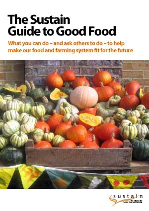 The Sustain Guide to Good Food: How to help make our food and farming system fit for the future