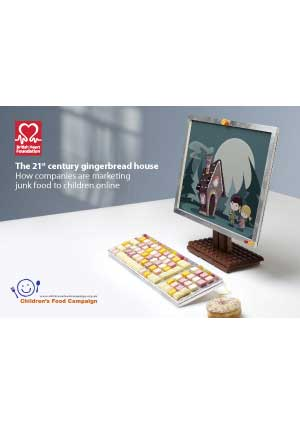 The 21st century gingerbread house - how companies are marketing junk food to children online