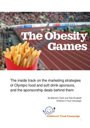 The Obesity Games - junk food sponsorship of the Olympic Games