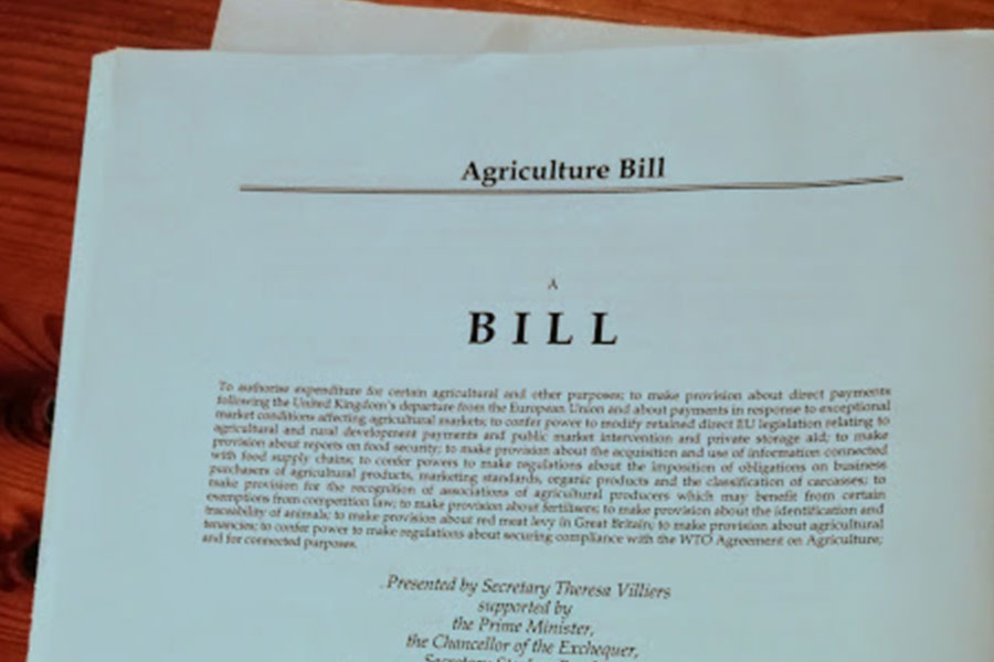 Photo: The Agriculture Bill