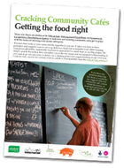 Cracking Community Cafes: Getting the food right