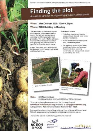 Finding the Plot: Access to land for food growing groups in urban areas