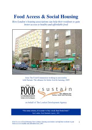 Food Access & Social Housing: How to help residents gain access to good food