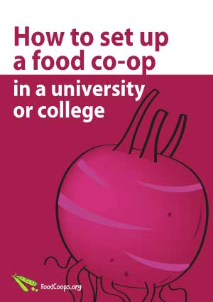 How to set up a food co-op or buying group in a university or college