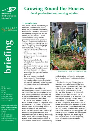 Growing Round the Houses: Food production on housing estates