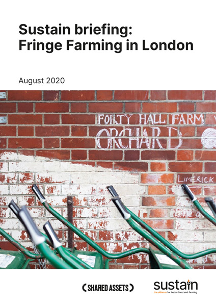 Sustain briefing: Fringe Farming in London