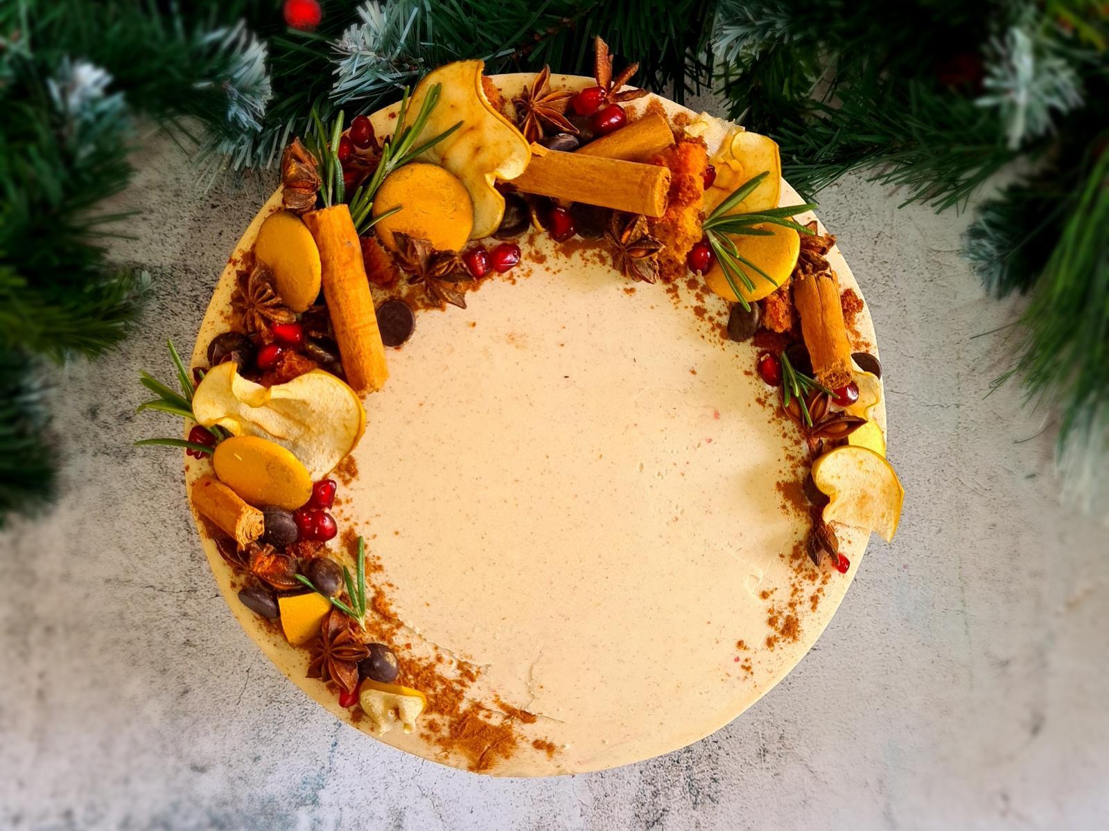 Luminary Bakery's Spiced Apple Christmas Cake - what a treat!