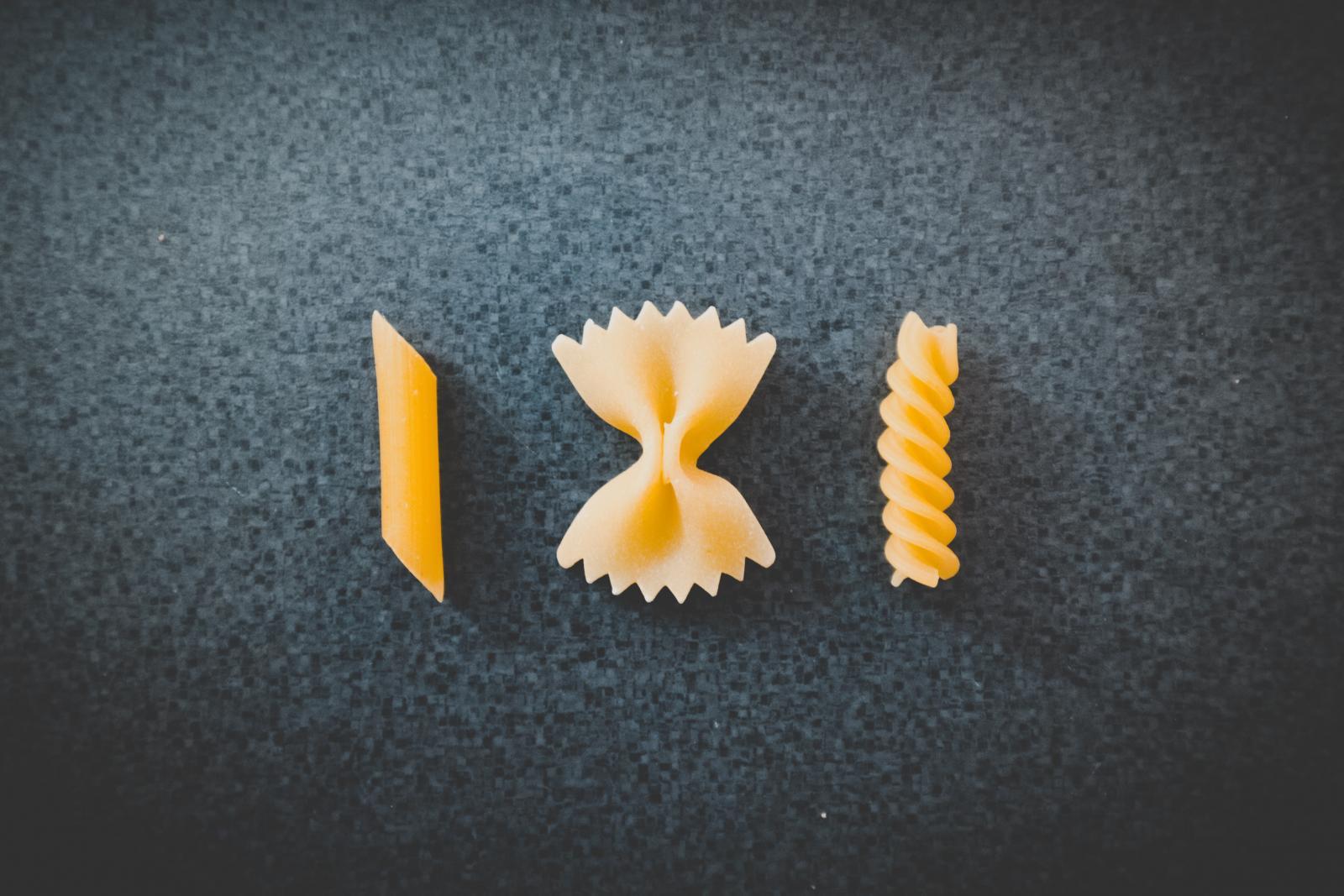 Pasta. Photo credit: Pexels
