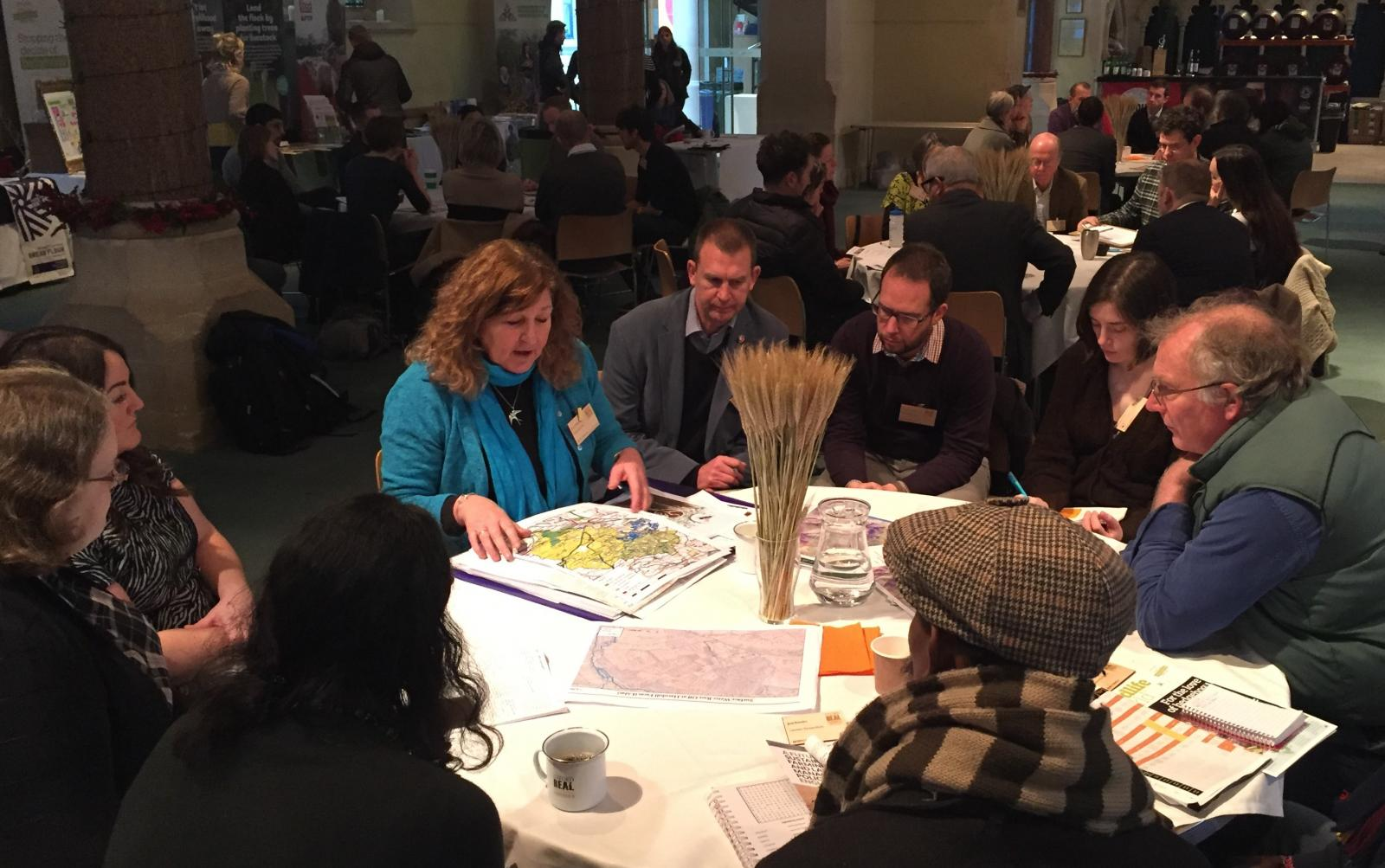 Photo of Sustain Brexit Forum at Oxford Real Farming Conference 2019