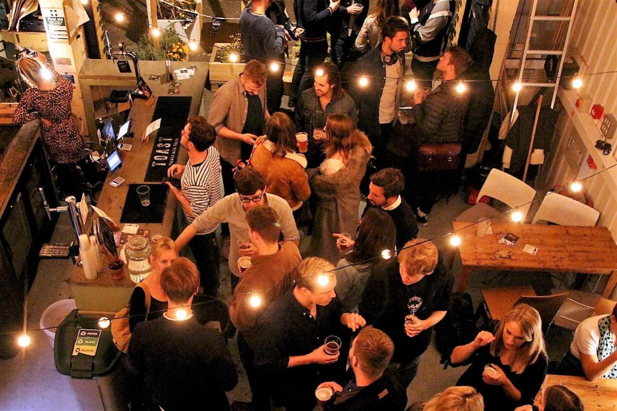 Toast Ale x Hiver Beers event for LFL's Urban Food Fortnight by Chris Young