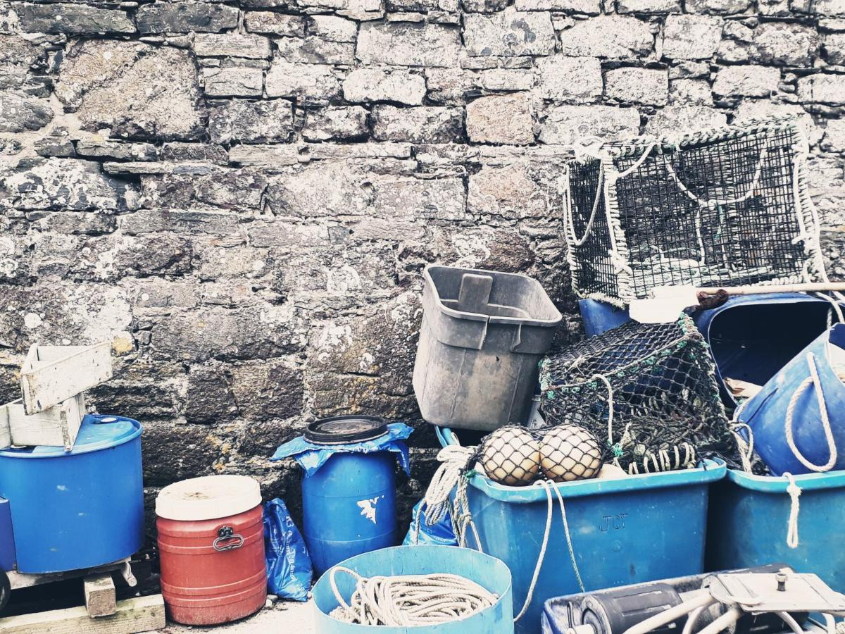 Cornish fishing gear, credit Ben Reynolds