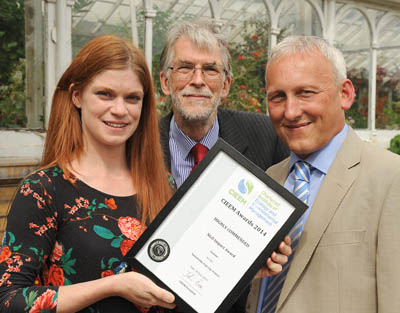 The Sustainable Fish City campaign receives a Highly Commended award from CIEEM, 2014