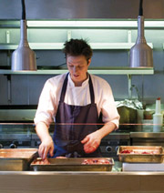 The Table, Southwark Street, chef at work