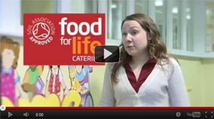 Food for Life video on Busy Bees nursery and its bronze Food for Life award