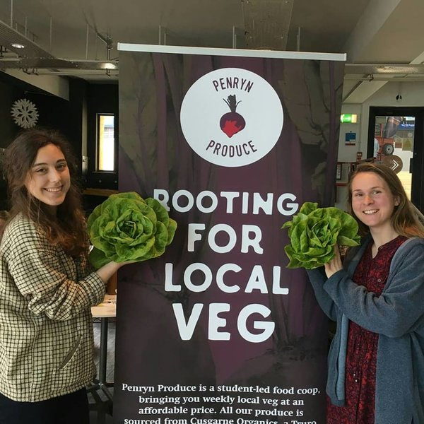 Photo credit: Penryn Produce, Falmouth & Exeter Students' Union