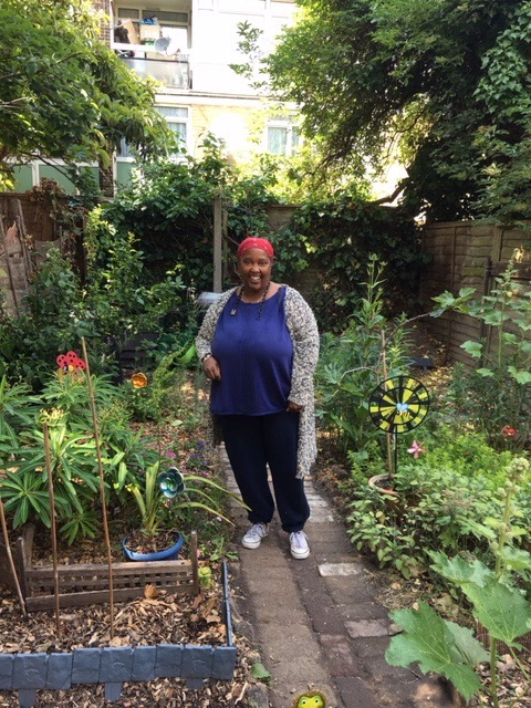 Donna at Styles Garden. Photo credit: Johanna Gilmour