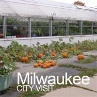 City visit to see food growing projects - Milwaukee