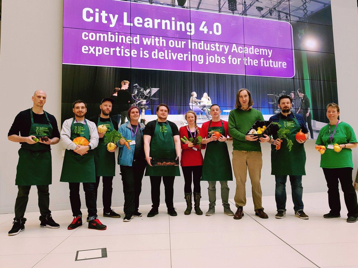 Chef Challenge finalists. Credit Glasgow Community Food Network