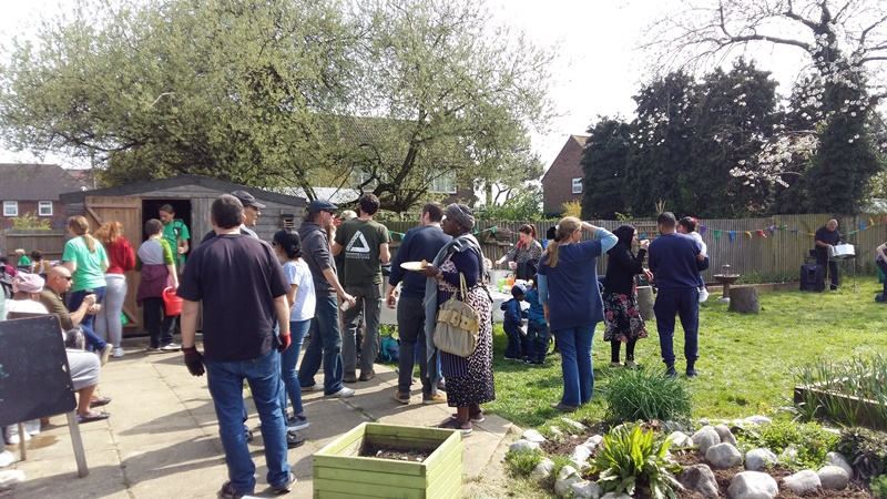 Big Dig Day at Farley Food Growing Hub. Credit: Groundwork East