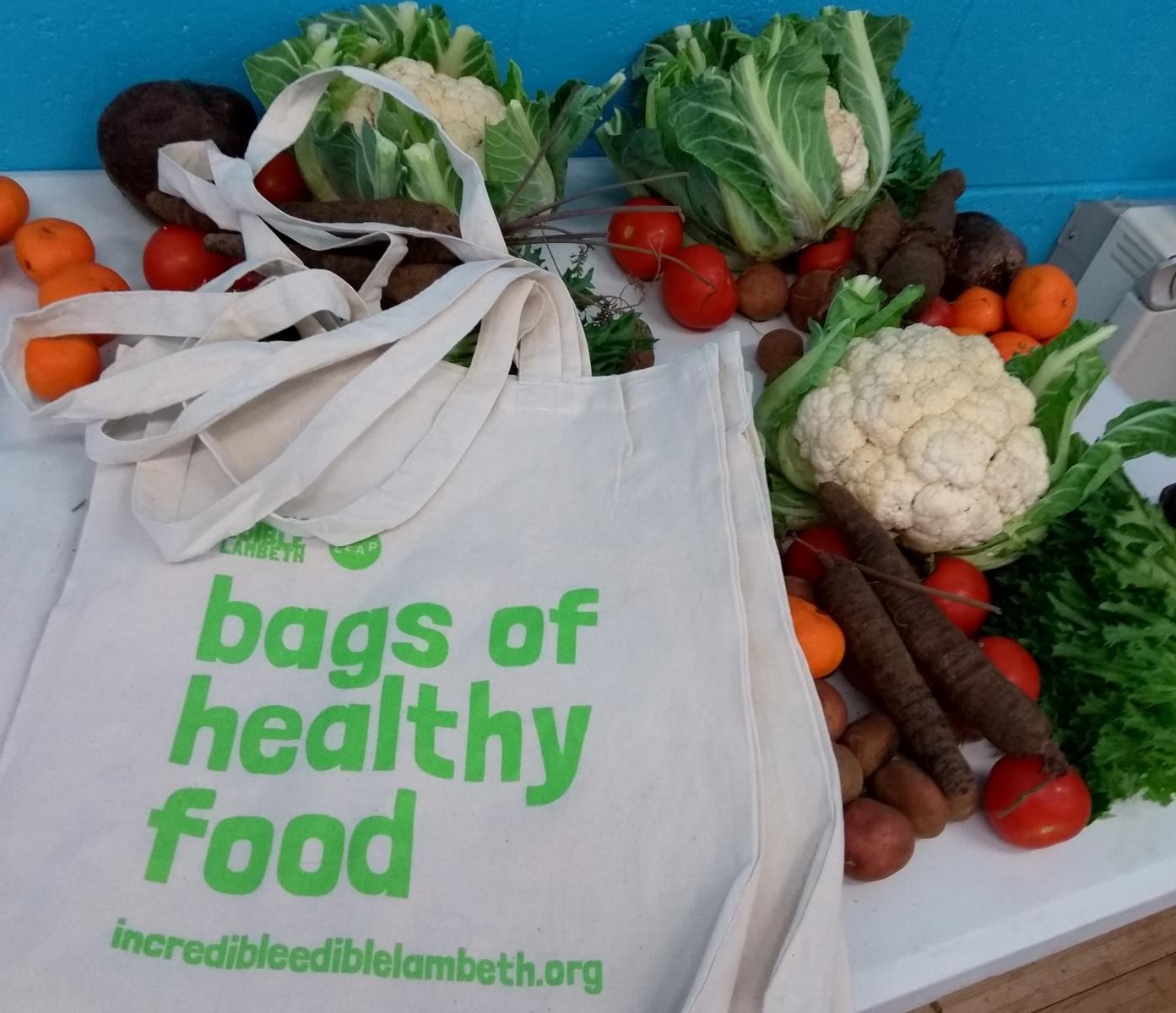 Free Fruit And Veg Bags To Lambeth Families With Children
