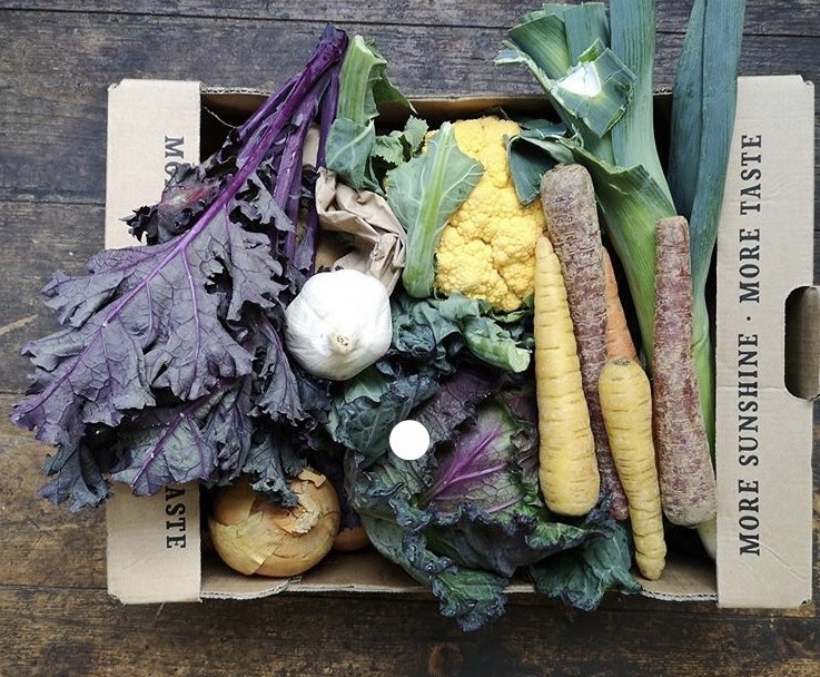 Eat Your Greens veg box. Credit Food Wise Leeds