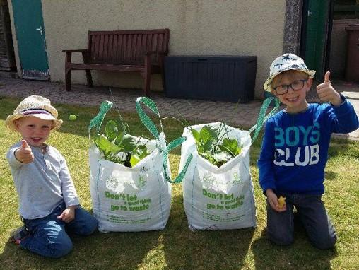 Boost to community food growing in Aberdeen. Credit: Granite City Good Food