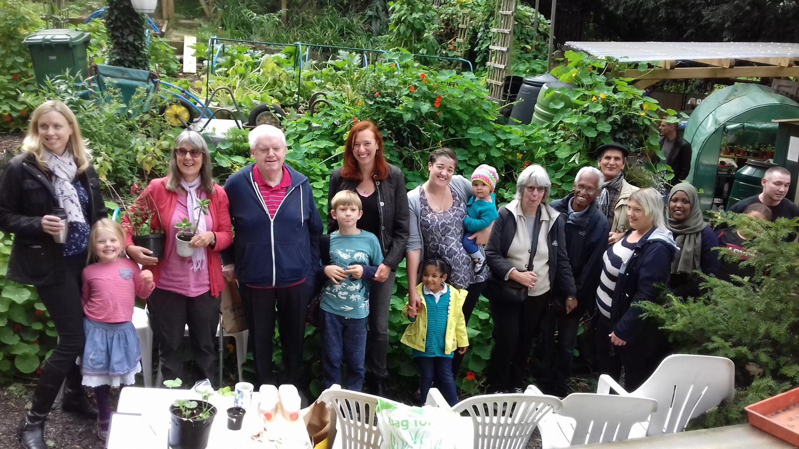 Maryon Park Community Garden in the Royal Borough of Greenwich is one of hundreds of gardens involved in the Big Dig Day over the past 8 years.