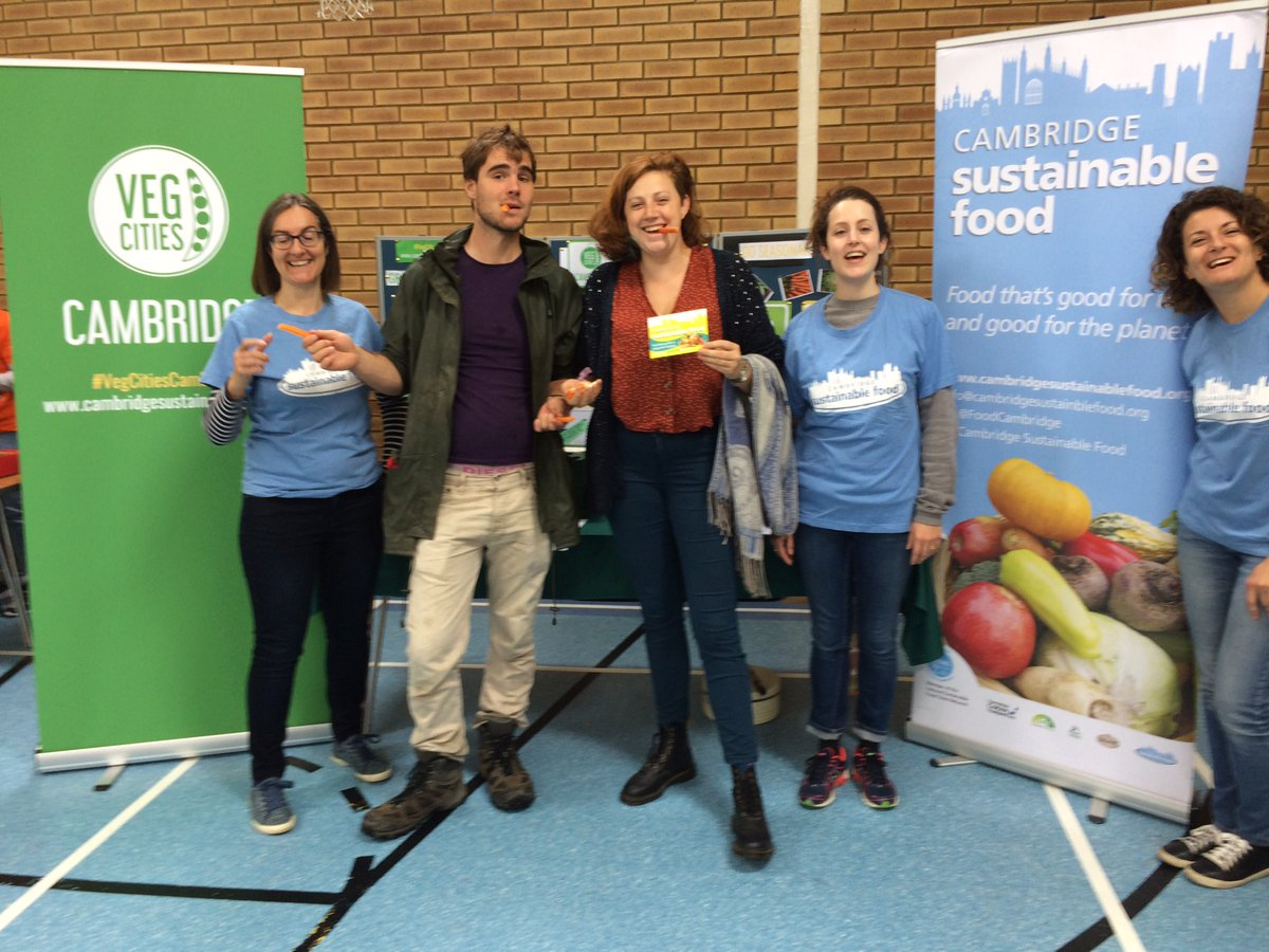 Veg Cities Cambridge are inviting individual and organisations to get involved in eating, cooking and growing. Credit: Cambridge Sustainable Food