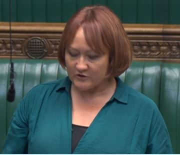Kerry MCCarthy MP spoke on the need for more support for organic farming, agroforestry, pasture-based livestock systems, integrated pest management and low-input mixed farming as well as a health focus