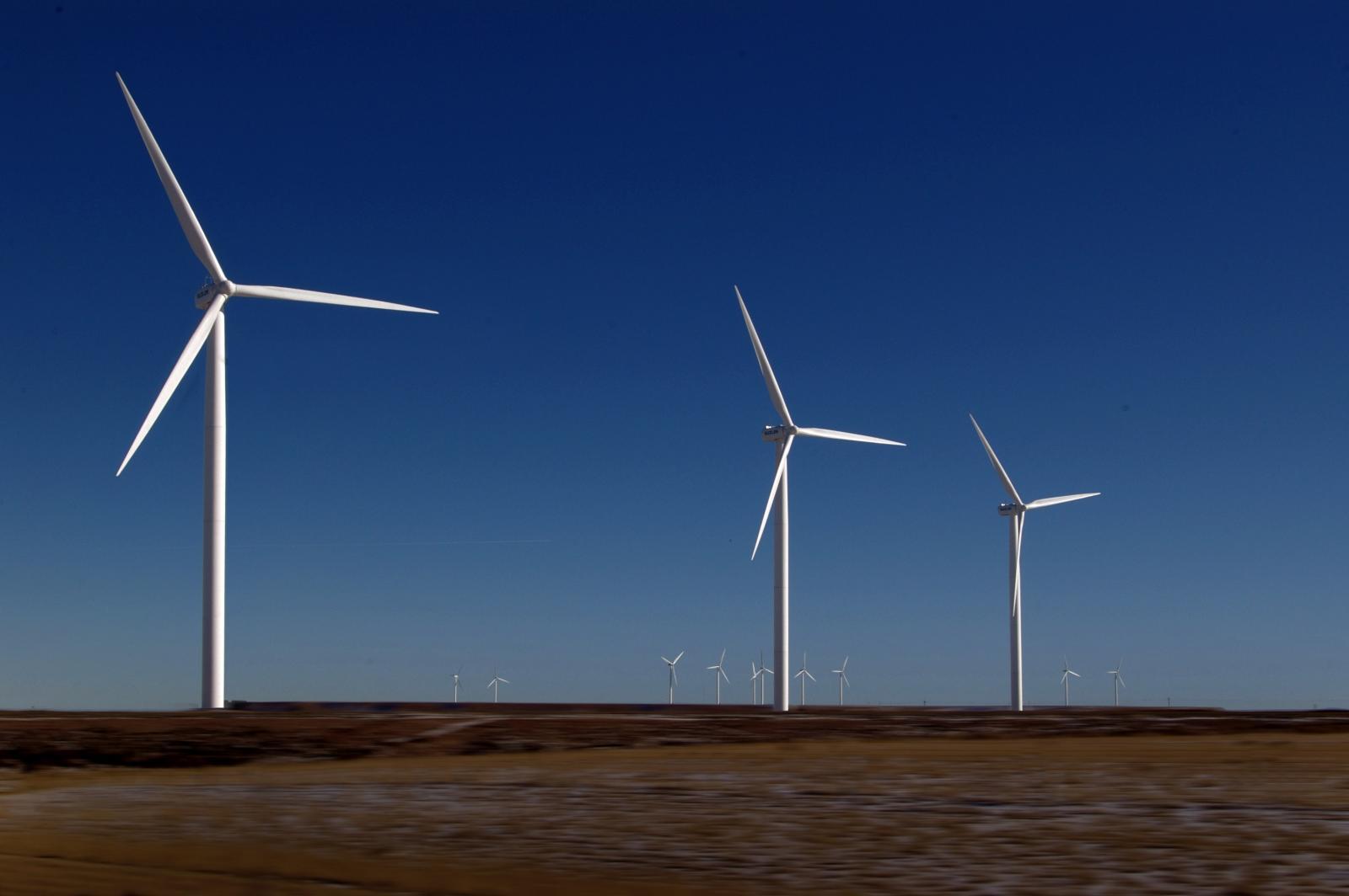 Wind turbines. Photo credit: Pexels