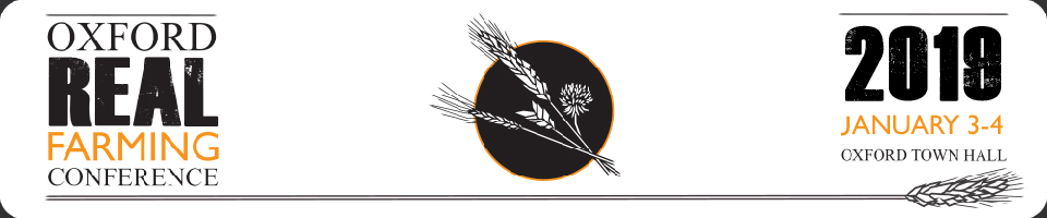 ORFC logo. Photo credit: Oxford Real Farming Conference