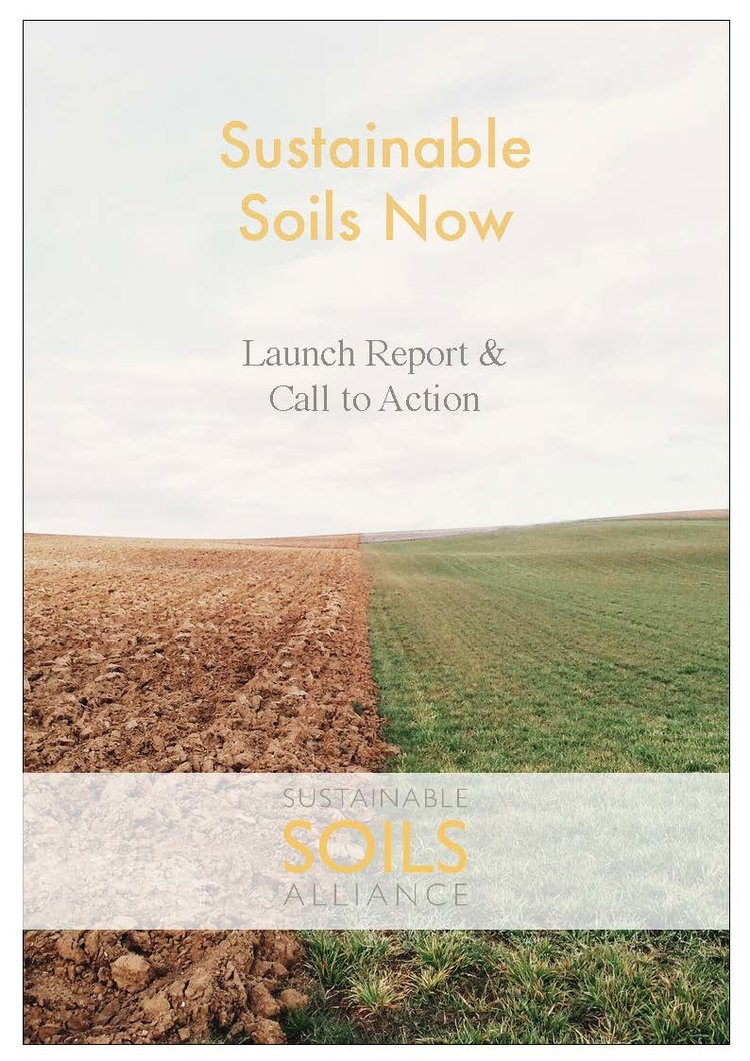 In An Event Report From The Launch Of Sustainable Soils Alliance Newly Formed Partnership Outlines Eight Actions