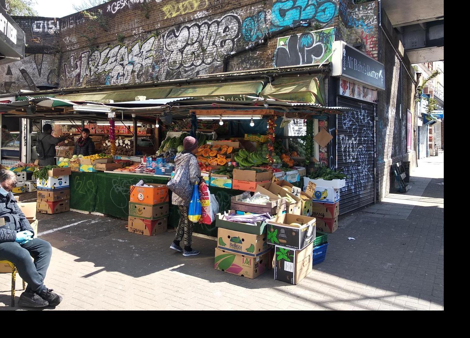 Peckham Street Market, credit Ruth Westcott