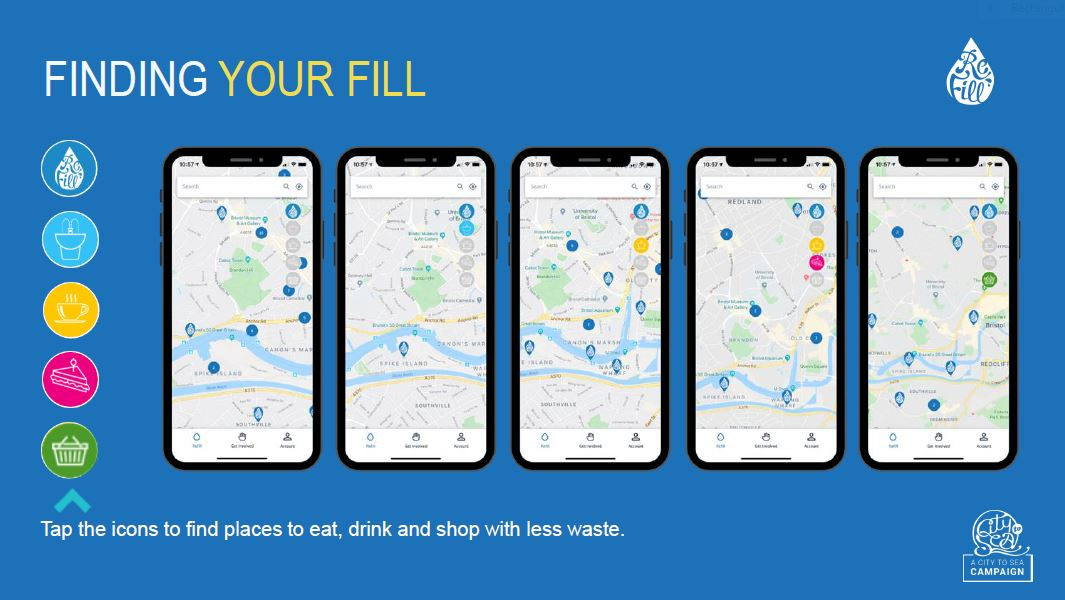 Refill App Credit City to Sea